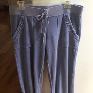 Juicy Couture sweatpants with tags attached